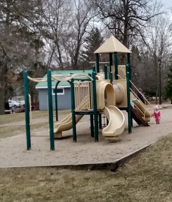 existing Elgin Park play structure